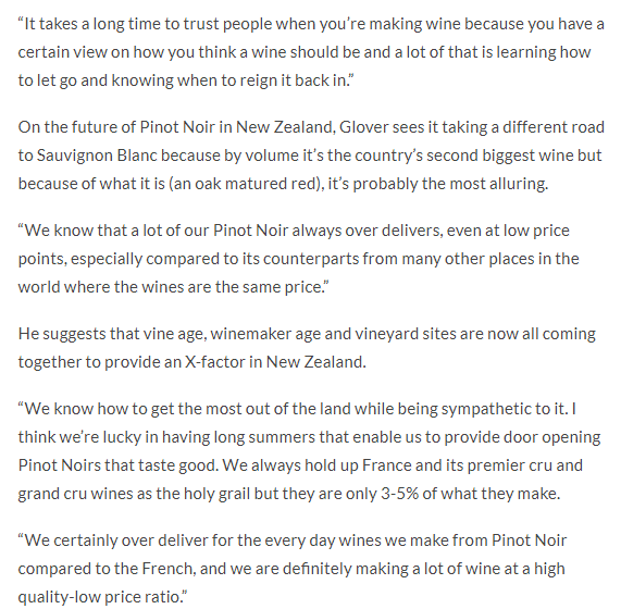 Ben Glover talks about NZ's biggest ever Pinot Noir event Zephyr Wine