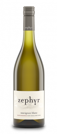Zephyr Sauvignon Blanc - Single Vineyard Wines of Marlborough, New Zealand